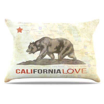 Cali Love Pillowcase Size: Standard