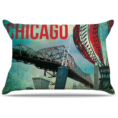 Chicago Pillowcase Size: King