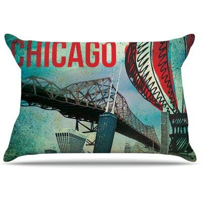 Chicago Pillowcase Size: Standard