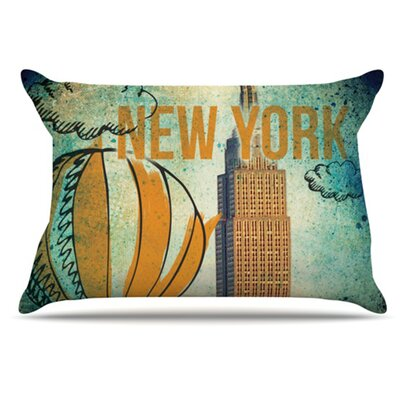 New York Pillowcase Size: Standard