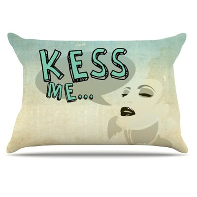 Kess Me Pillowcase Size: Standard