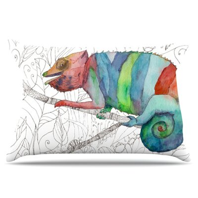 Chameleon Fail Pillowcase Size: King