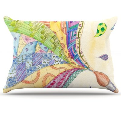 The Painted Quilt Pillowcase Size: Standard