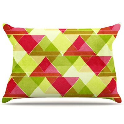 Palm Beach Pillowcase Size: King