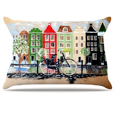 Bicycle Pillowcase Size: King