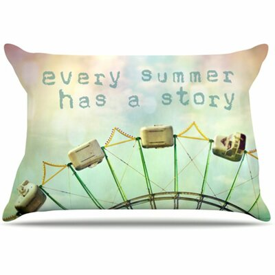 Every Summer Has a Story Pillowcase Size: Standard