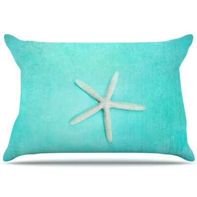 Starfish Pillowcase Size: King