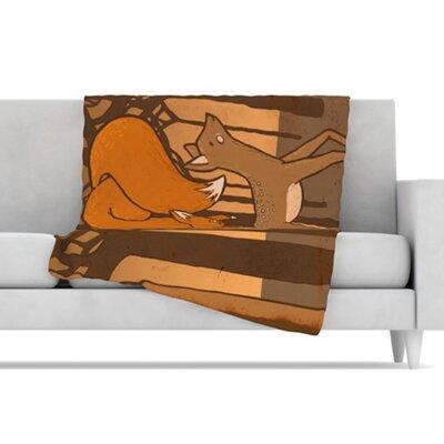 "Kess InHouse Friends Microfiber Fleece Throw Blanket - Size: 40"" L x 30"" W at Sears.com"