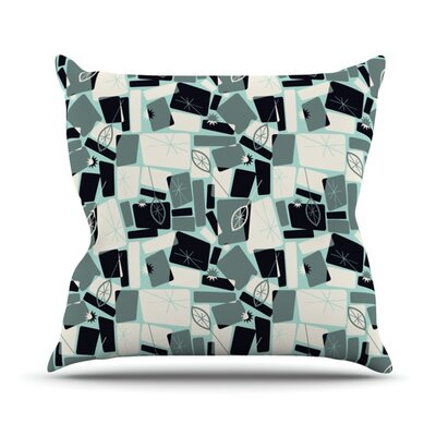 Vacation Days Chess by Allison Beilke Throw Pillow Size: 16 H x 16 W x 1 D