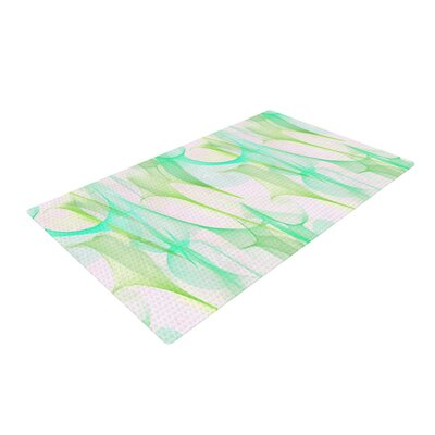 Alison Coxon Swim II Green/White Area Rug