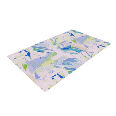 Alison Coxon Shatter Blue Area Rug Rug Size: 4 x 6