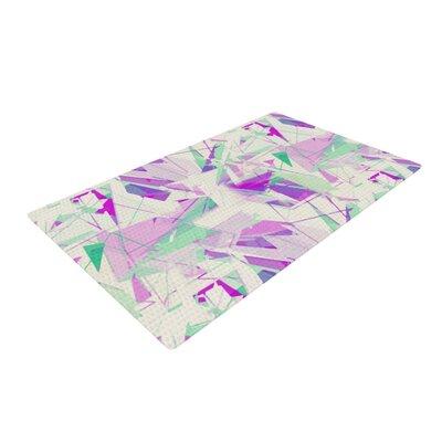 Alison Coxon Shatter Purple Area Rug Rug Size: 4 x 6