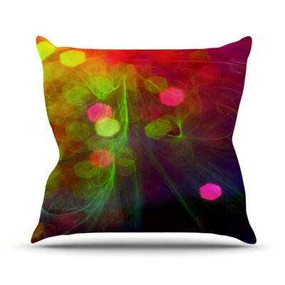 Dance by Alison Coxon Throw Pillow Size: 26 H x 26 W x 1 D