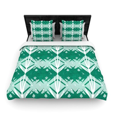 Diamond by Alison Coxon Featherweight Duvet Cover Size: Queen, Fabric: Woven Polyester