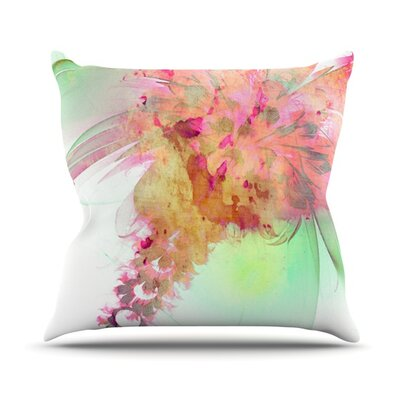 Lily by Alison Coxon Throw Pillow Size: 26 H x 26 W x 1 D