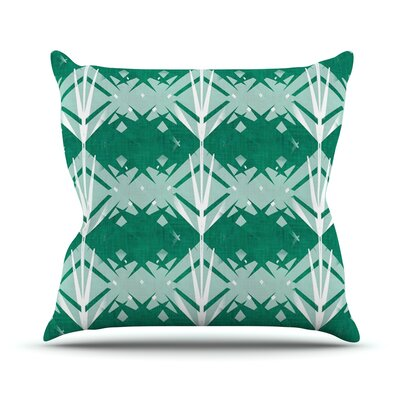 Diamond by Alison Coxon Throw Pillow Size: 16 H x 16 W x 1 D