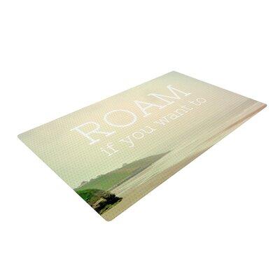 Alison Coxon Roam Cream Area Rug Rug Size: 2 x 3