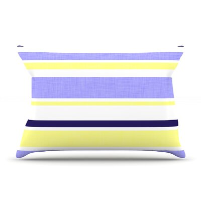 Alison Coxon Jack Tar Pillow Case Color: Purple/Yellow