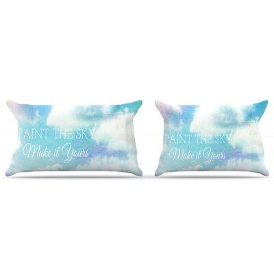 Alison Coxon Paint The Sky! Pillow Case