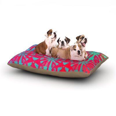 Alison Coxon Aloha Dog Pillow with Fleece Cozy Top Size: Large (50 W x 40 D x 8 H)