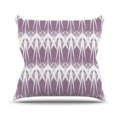Arrow Lavender by Alison Coxon Throw Pillow Size: 26 H x 26 W x 1 D