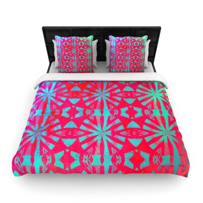 Aloha by Alison Coxon Featherweight Duvet Cover Size: King, Fabric: Woven Polyester