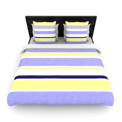 Jack Tar by Alison Coxon Woven Duvet Cover Size: King/California King