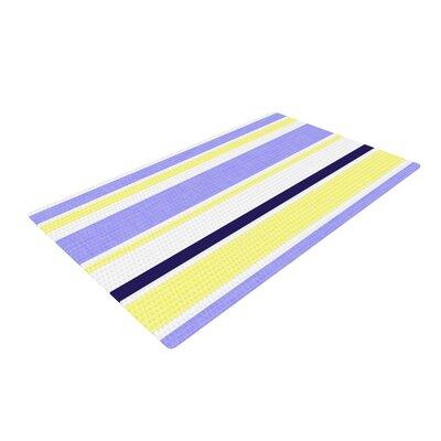 Alison Coxon Jack Tar Purple/Yellow Area Rug Rug Size: 2 x 3