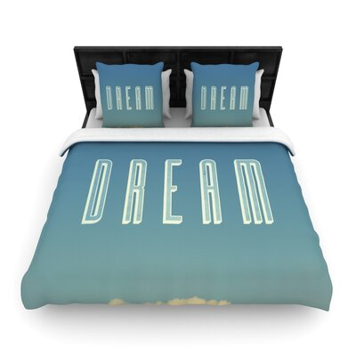 Dream Print by Galaxy Eyes Featherweight Duvet Cover Size: Twin, Fabric: Woven Polyester