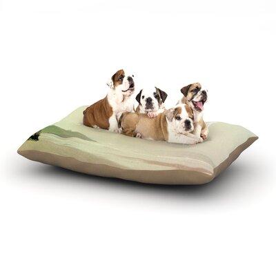 Alison Coxon Roam Ocean Dog Pillow with Fleece Cozy Top Size: Small (40 W x 30 D x 8 H)