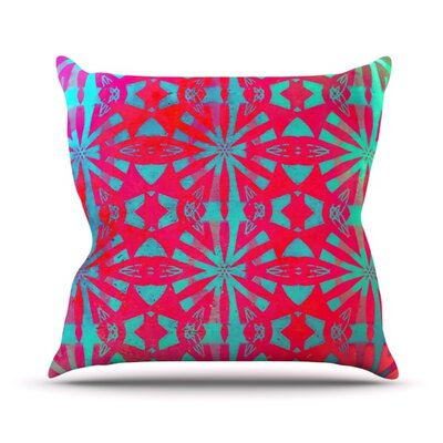 Aloha by Alison Coxon Throw Pillow Size: 16 H x 16 W x 1 D