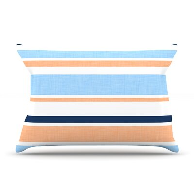 Alison Coxon Jack Tar Pillow Case Color: Blue/Orange