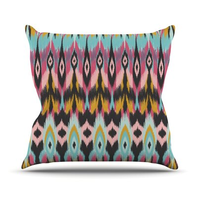 Bohotribal Throw Pillow Size: 18 H x 18 W x 1 D