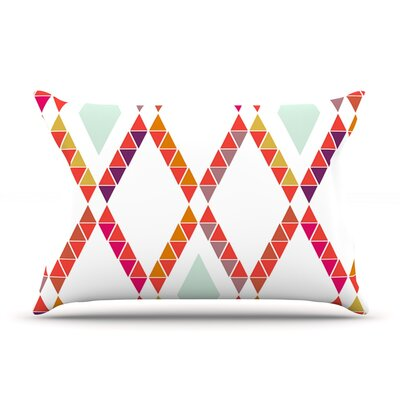 Pellerina Design Aztec Diamonds Geometric Pillow Case