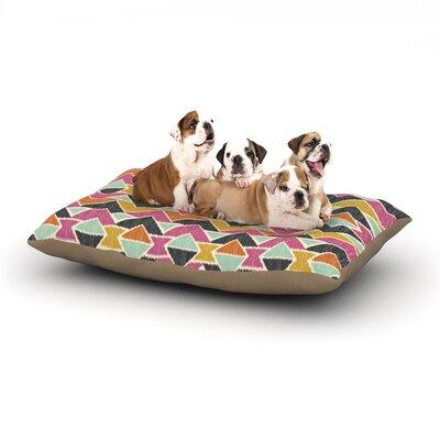 Amanda Lane Sequoyah Arrows Dog Pillow with Fleece Cozy Top Size: Small (40 W x 30 D x 8 H)