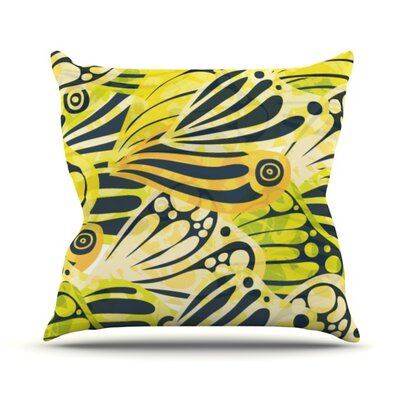 Papalote by Anchobee Throw Pillow Size: 16 H x 16 W x 1 D