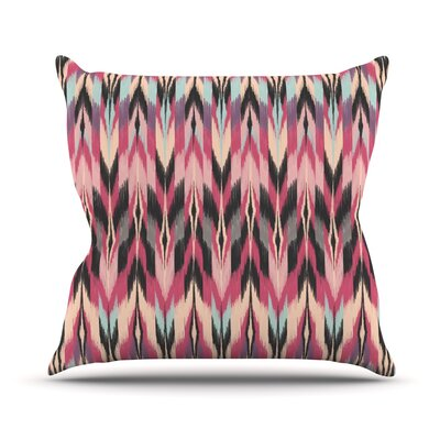 Dreamhaze Tribal Throw Pillow Size: 18 H x 18 W x 1 D