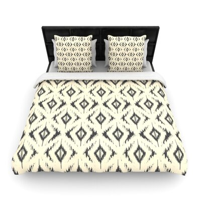 Moonrise Diaikat by Amanda Lane Featherweight Duvet Cover Size: Queen, Fabric: Lightweight Polyester