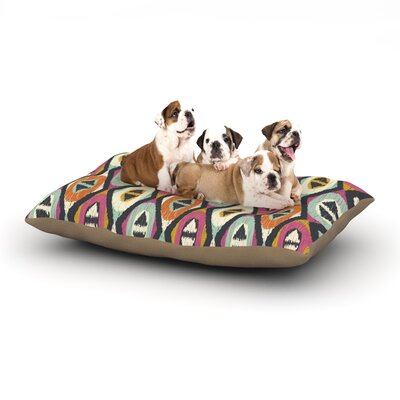 Amanda Lane Sequoyah Diamonds Dog Pillow with Fleece Cozy Top Size: Small (40 W x 30 D x 8 H)