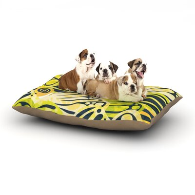 Anchobee Papalote Dog Pillow with Fleece Cozy Top Size: Small (40 W x 30 D x 8 H)