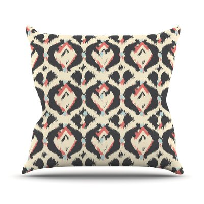 Moonrise Abikat by Amanda Lane Throw Pillow Size: 26'' H x 26'' W x 1