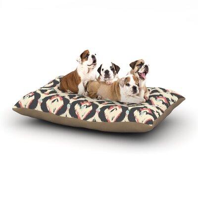 Amanda Lane Moonrise Abikat Dog Pillow with Fleece Cozy Top Size: Small (40 W x 30 D x 8 H)