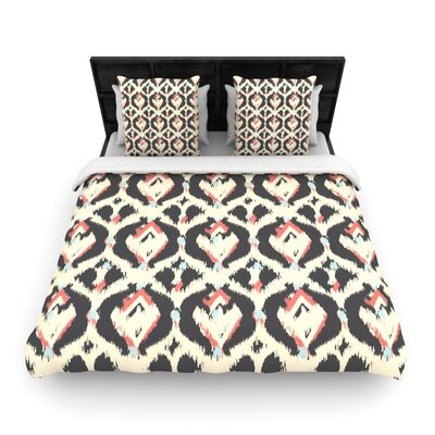 Moonrise Abikat by Amanda Lane Featherweight Duvet Cover Size: King/California King, Fabric: Cotton
