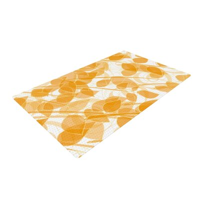 Anchobee Summer Orange Area Rug Rug Size: 2 x 3