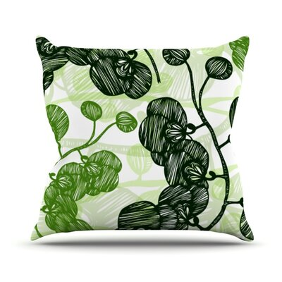 Hikae by Anchobee Throw Pillow Size: 16 H x 16 W x 1 D