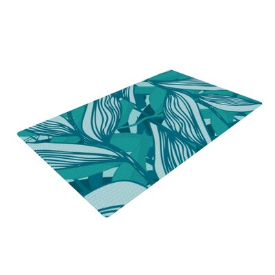 Anchobee Algae Green Area Rug Rug Size: 2 x 3