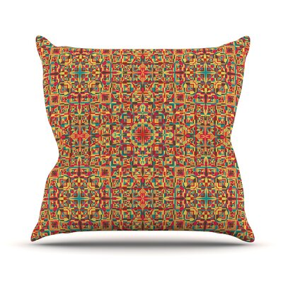 Circus by Allison Soupcoff Throw Pillow Size: 18 H x 18 W x 1 D