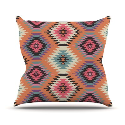 Southwestern Dreams by Amanda Lane Throw Pillow Size: 26 H x 26 W x 1 D