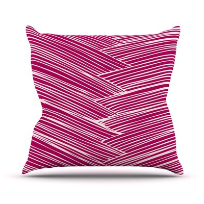 Loom by Anchobee Throw Pillow Size: 18'' H x 18'' W x 1