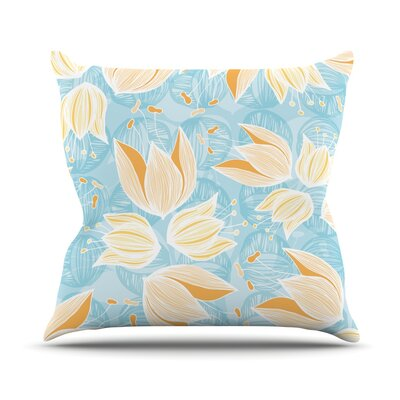 Giallo by Anchobee Throw Pillow Size: 16 H x 16 W x 1 D